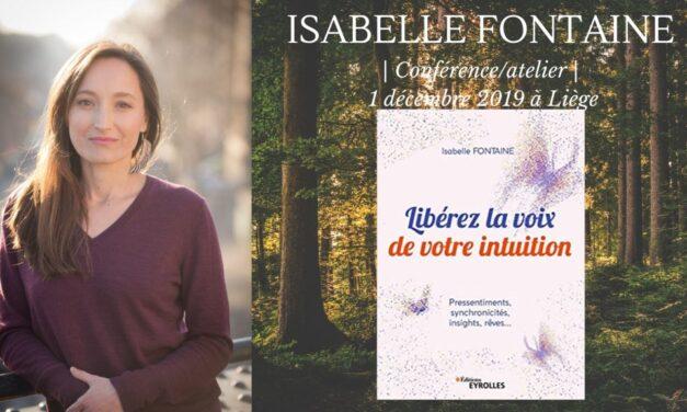 Conférences – Atelier intuition en Belgique 1er et 2 décembre 2019