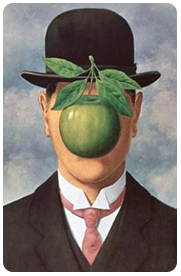 oeuvre Magritte pop-up newsletter